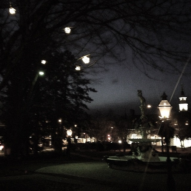 downtownchestertown is glowing. See the whole town decked out for…