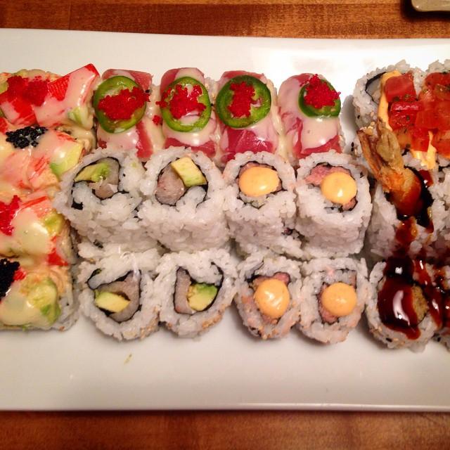 Sushi at Sado chestertownfoodie