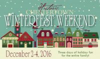 A weekend filled with holiday shopping, performances, tastings, open houses and crafts for kids and adults.