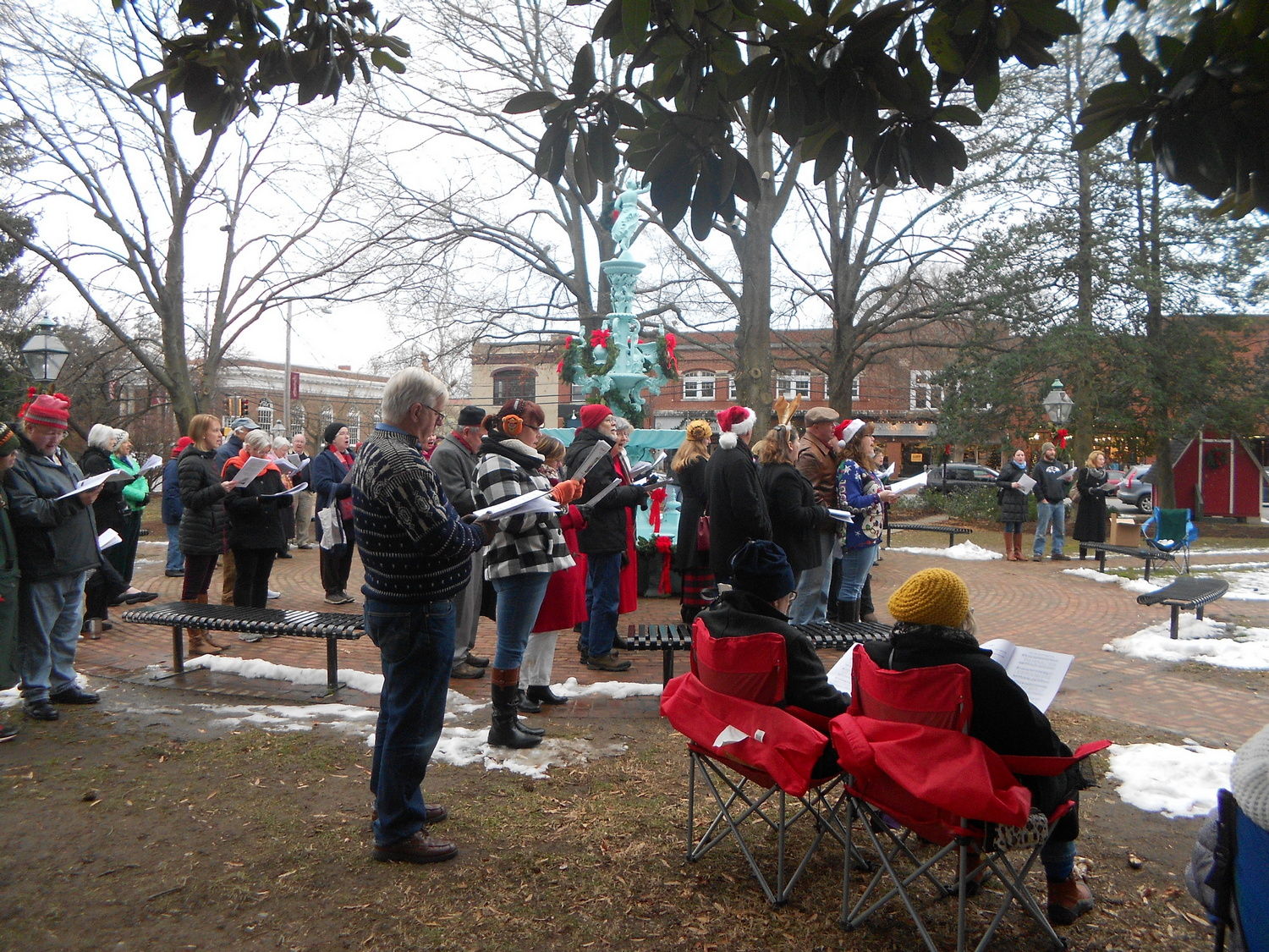 Town of Chestertown Community Sing-Along — Christmas Carols, Holiday ...