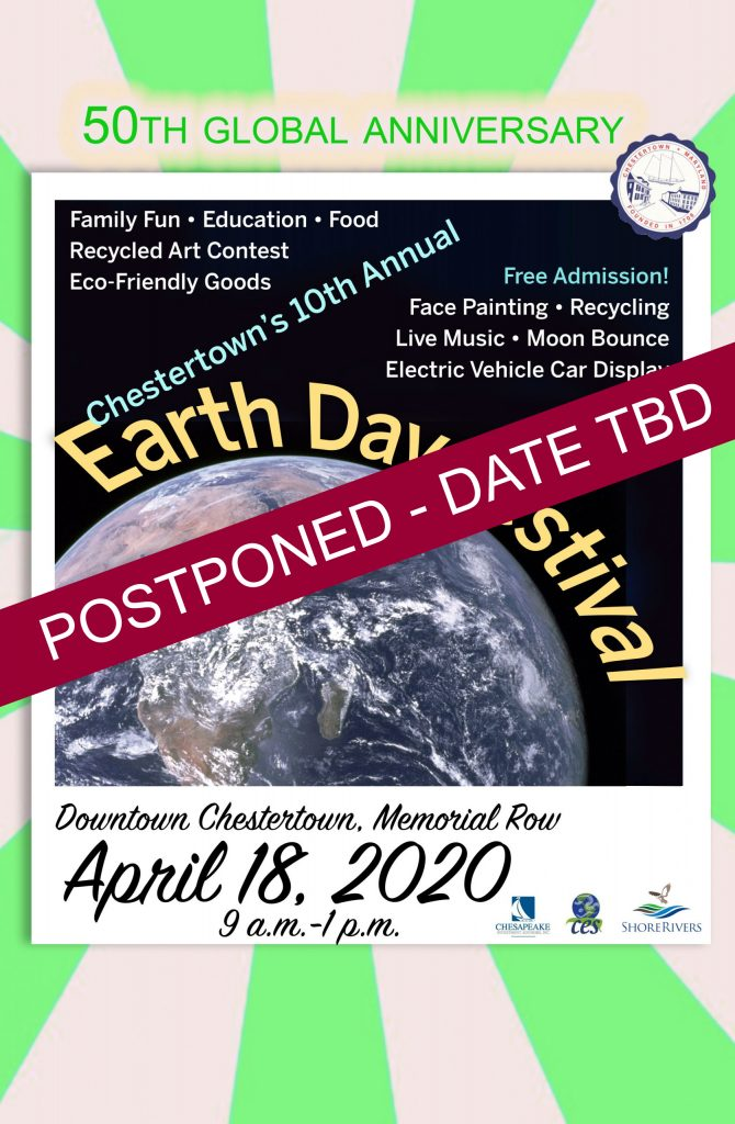 Earth Day Poster Postponed