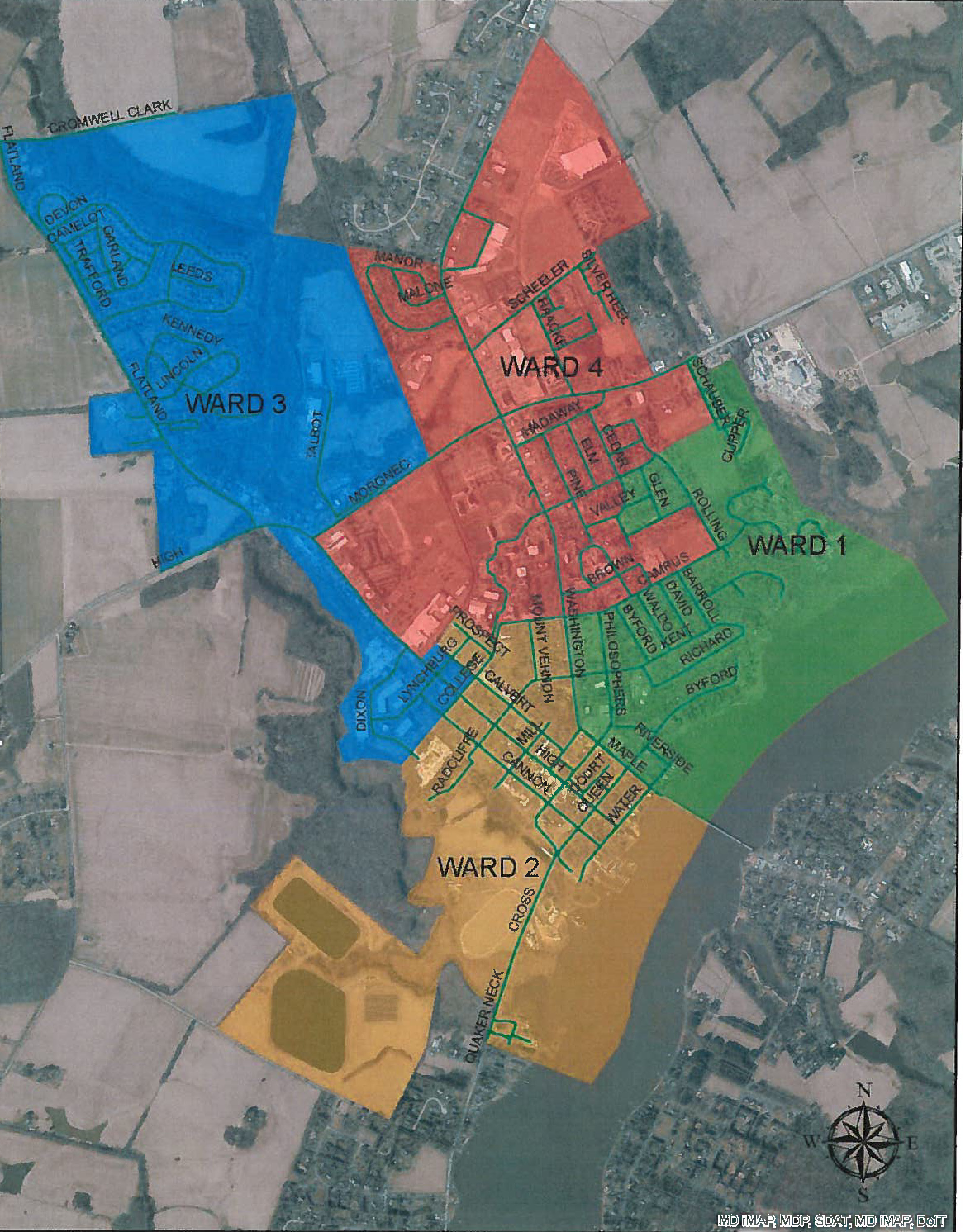 Chestertown Redistricting Map